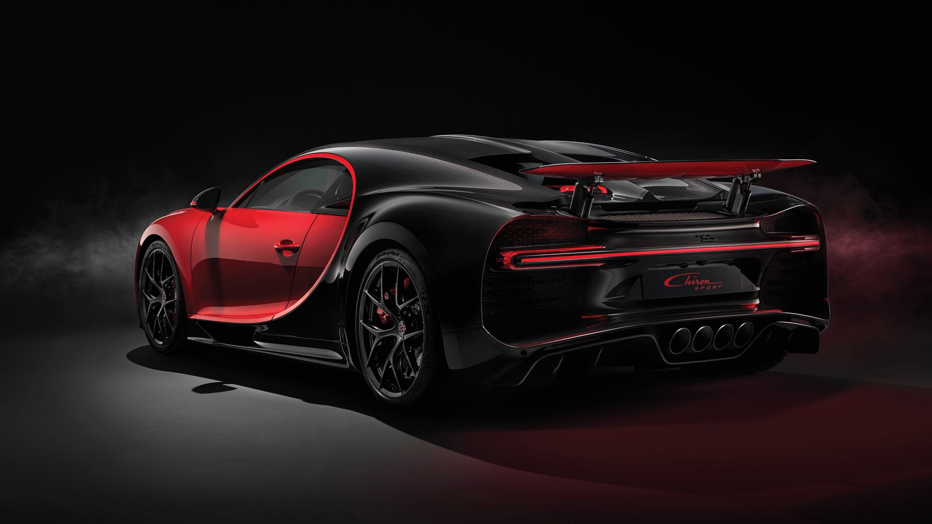 Chiron Sport 34 rear