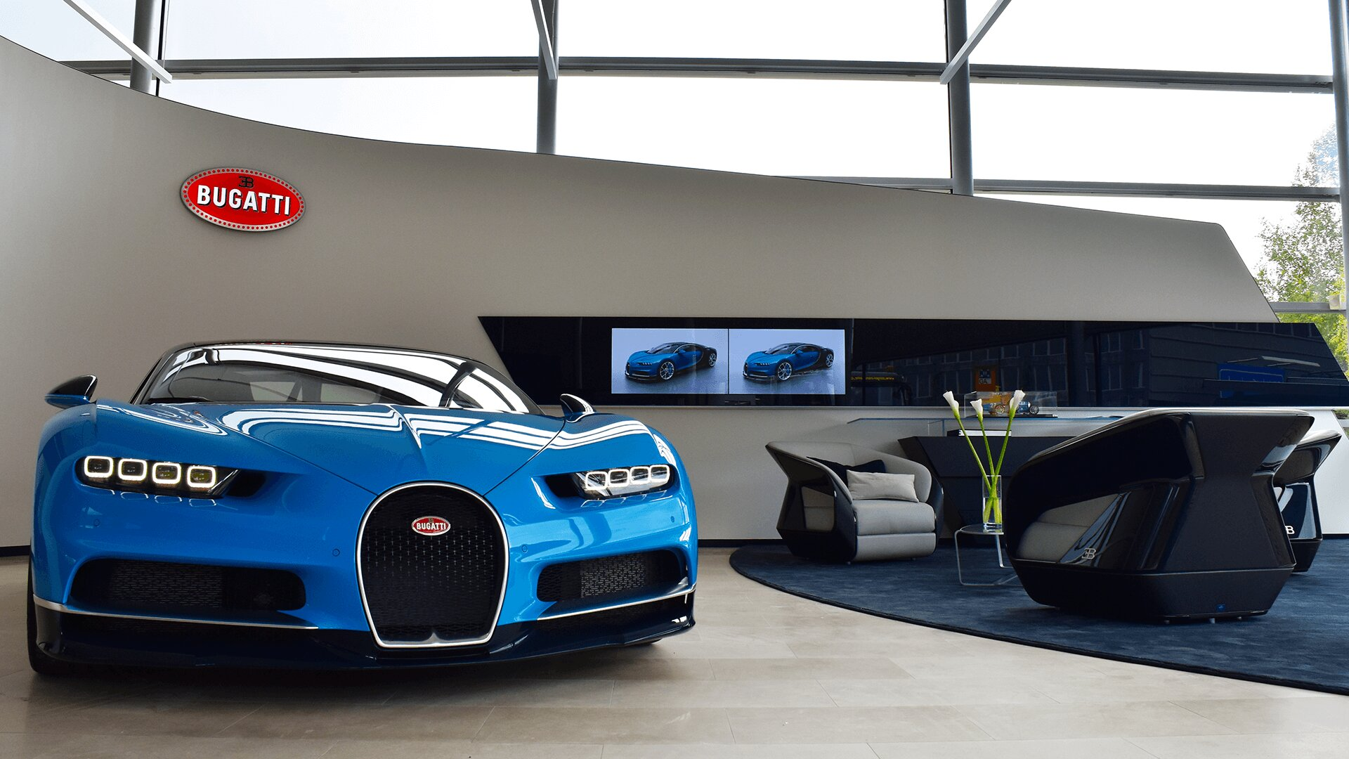 Bugatti showroom Zuerich