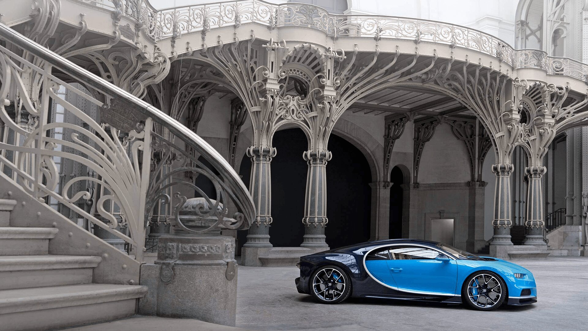 Bugatti showroom Doha