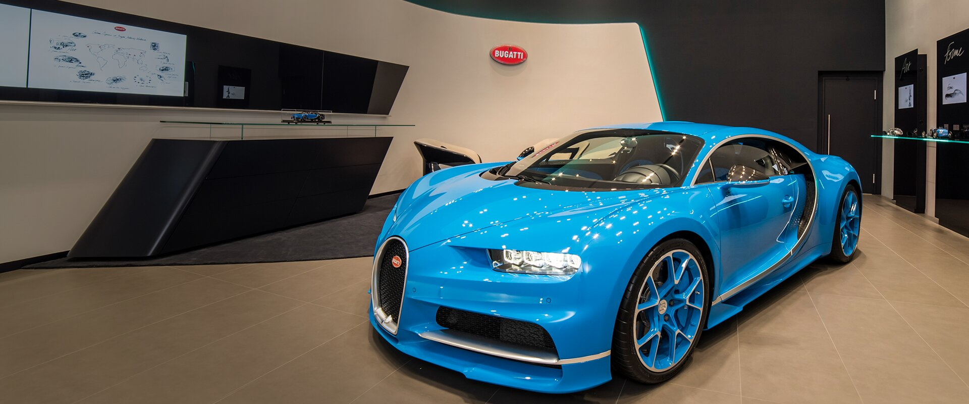 Bugatti Chiron Taiwan Presentation Sports Car Super