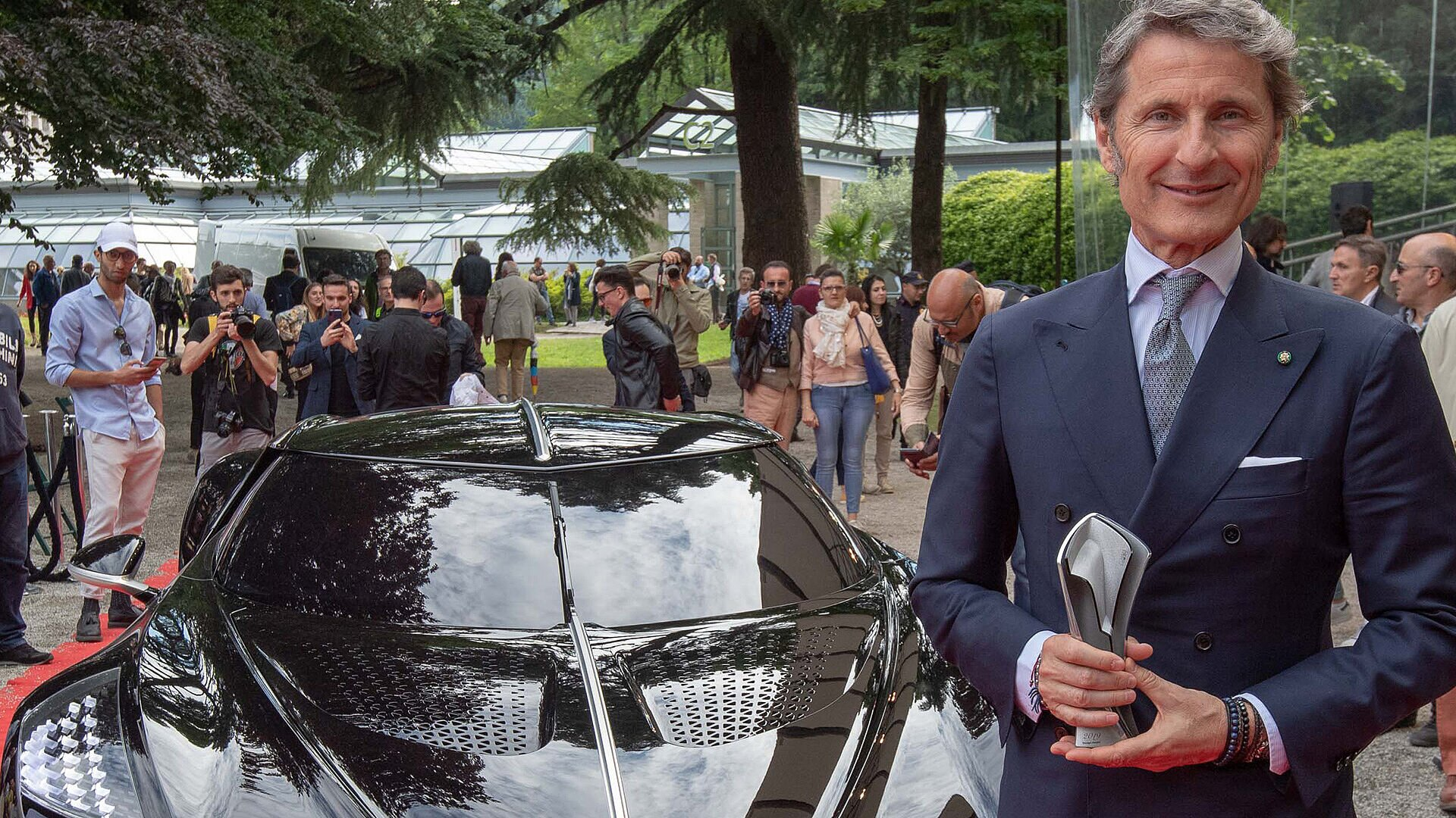 [Translate to Deutsch:] Stephan Winkelmann, President of Bugatti