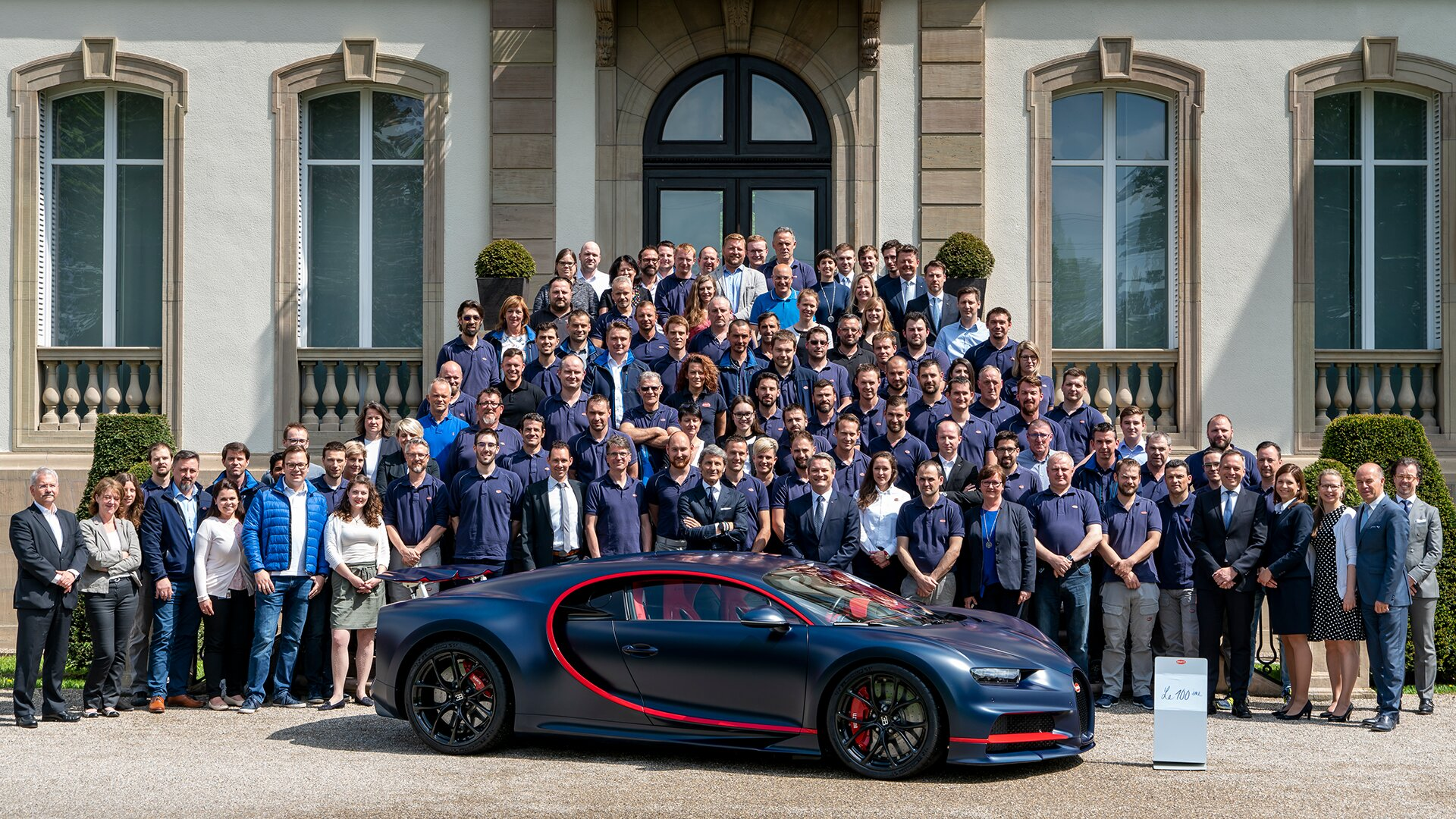 [Translate to Deutsch:] Bugatti Team