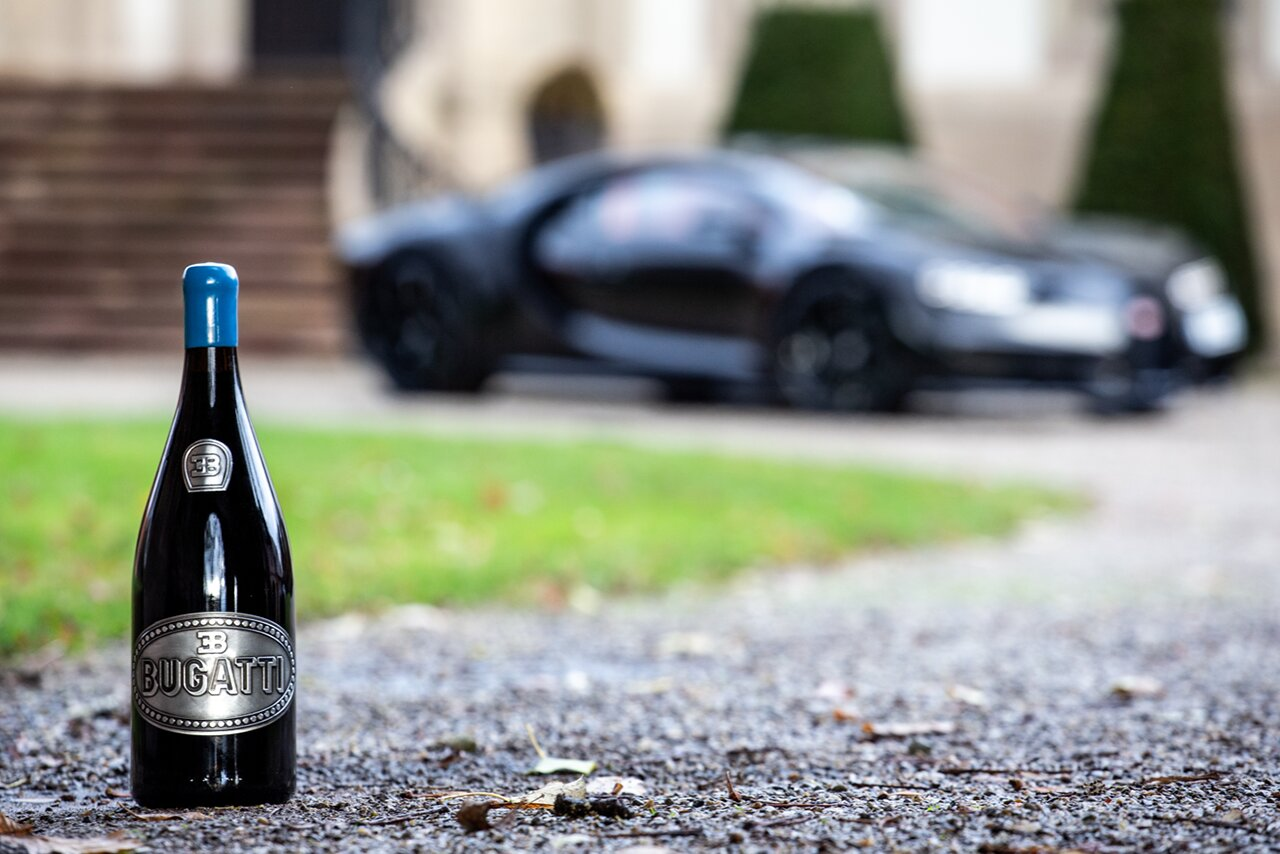 Menegolli Wine and Bugatti Chiron