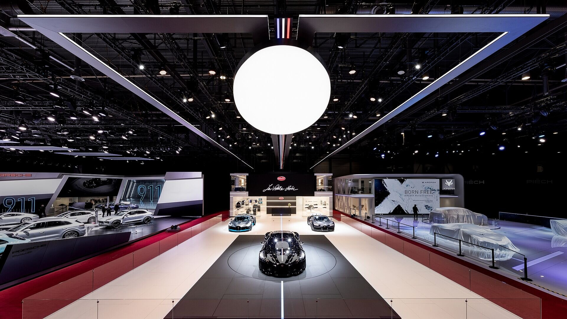 [Translate to Deutsch:] Bugatti Stand geneva
