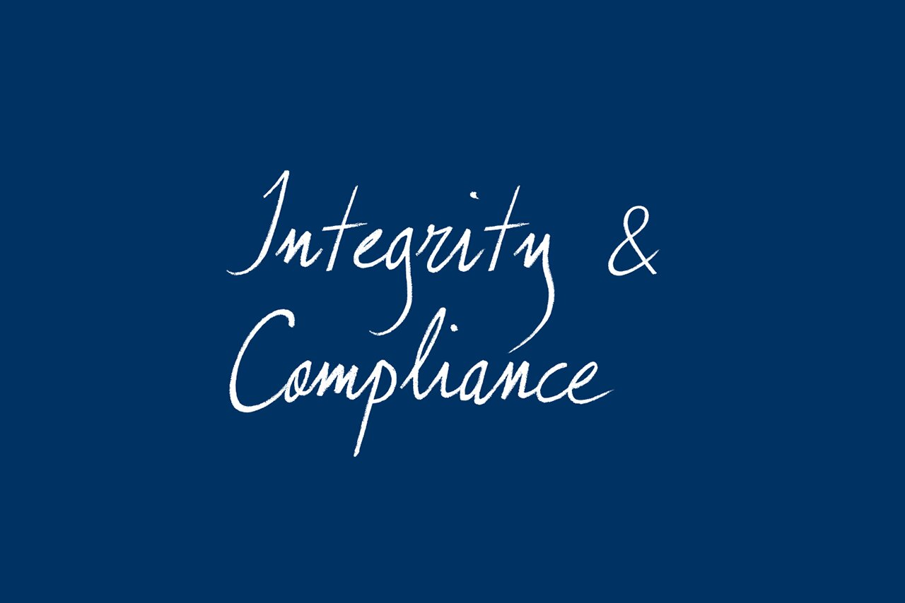 [Translate to Deutsch:] integrity and compliance