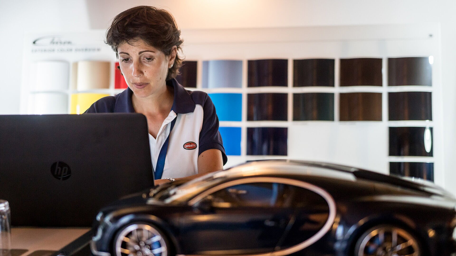 Laure Beneteau, Bugatti Sales and Operations Manager