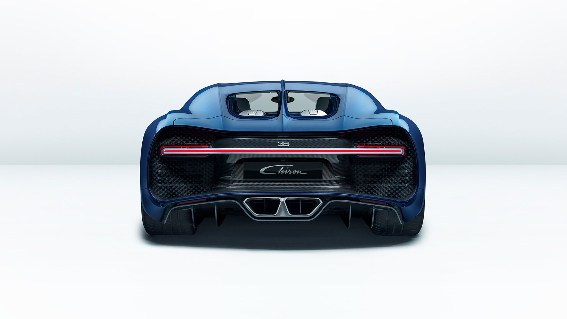 Bugatti Chiron Rear Wing Down Brake