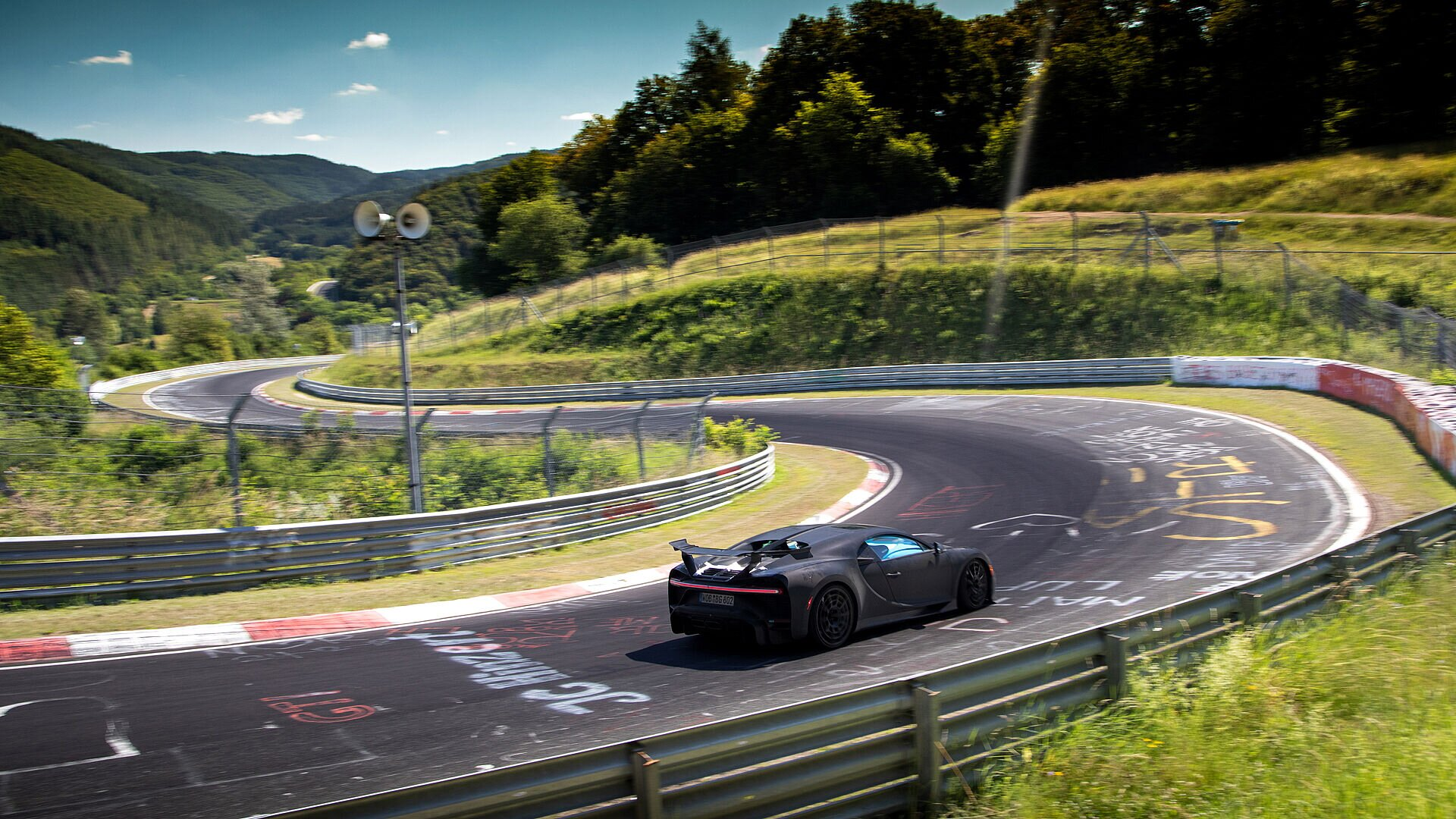 Chiron Pur Sport – final handling tests on the Nordschleife - Image 3
