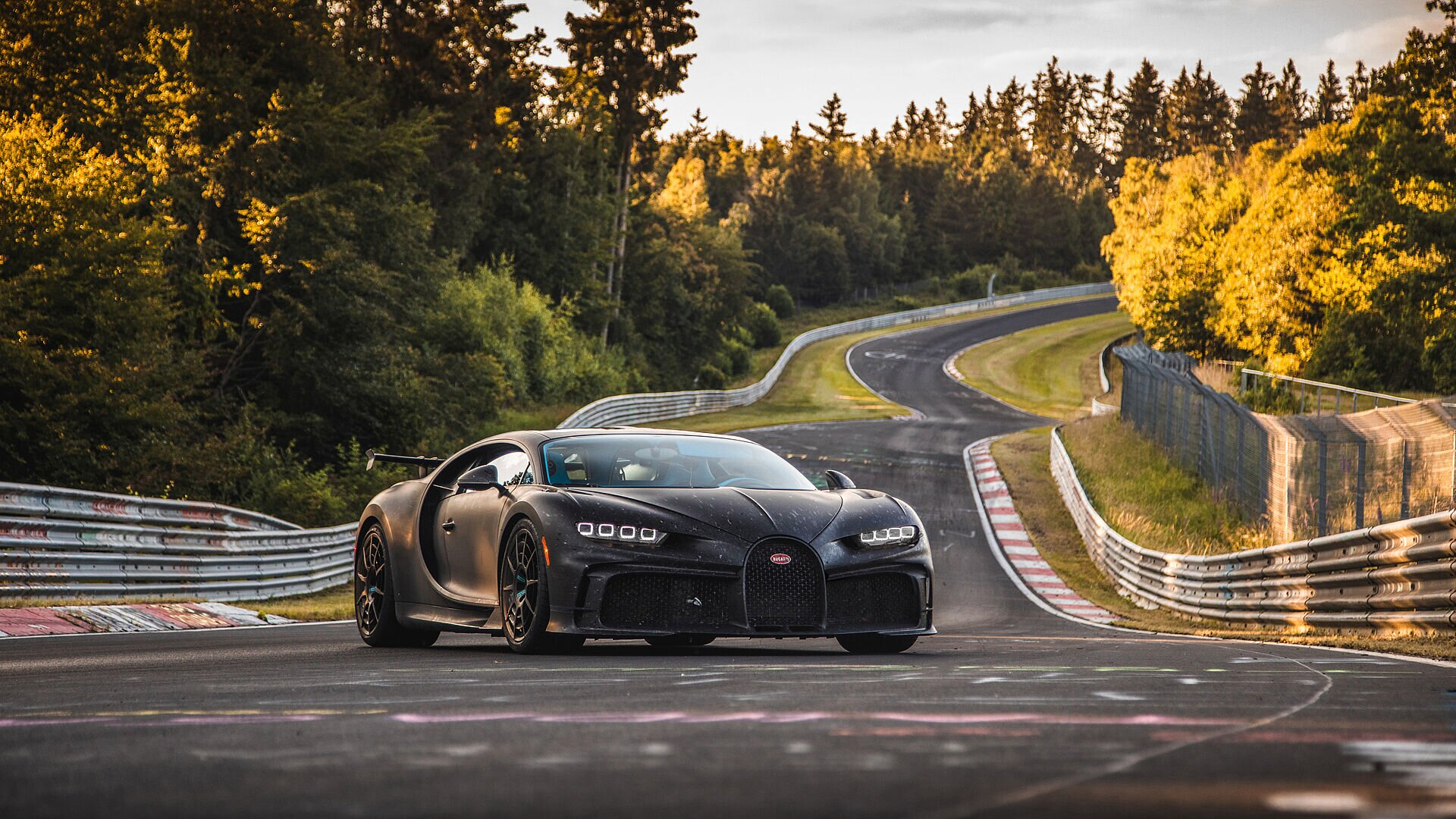 Chiron Pur Sport – final handling tests on the Nordschleife - Image 2