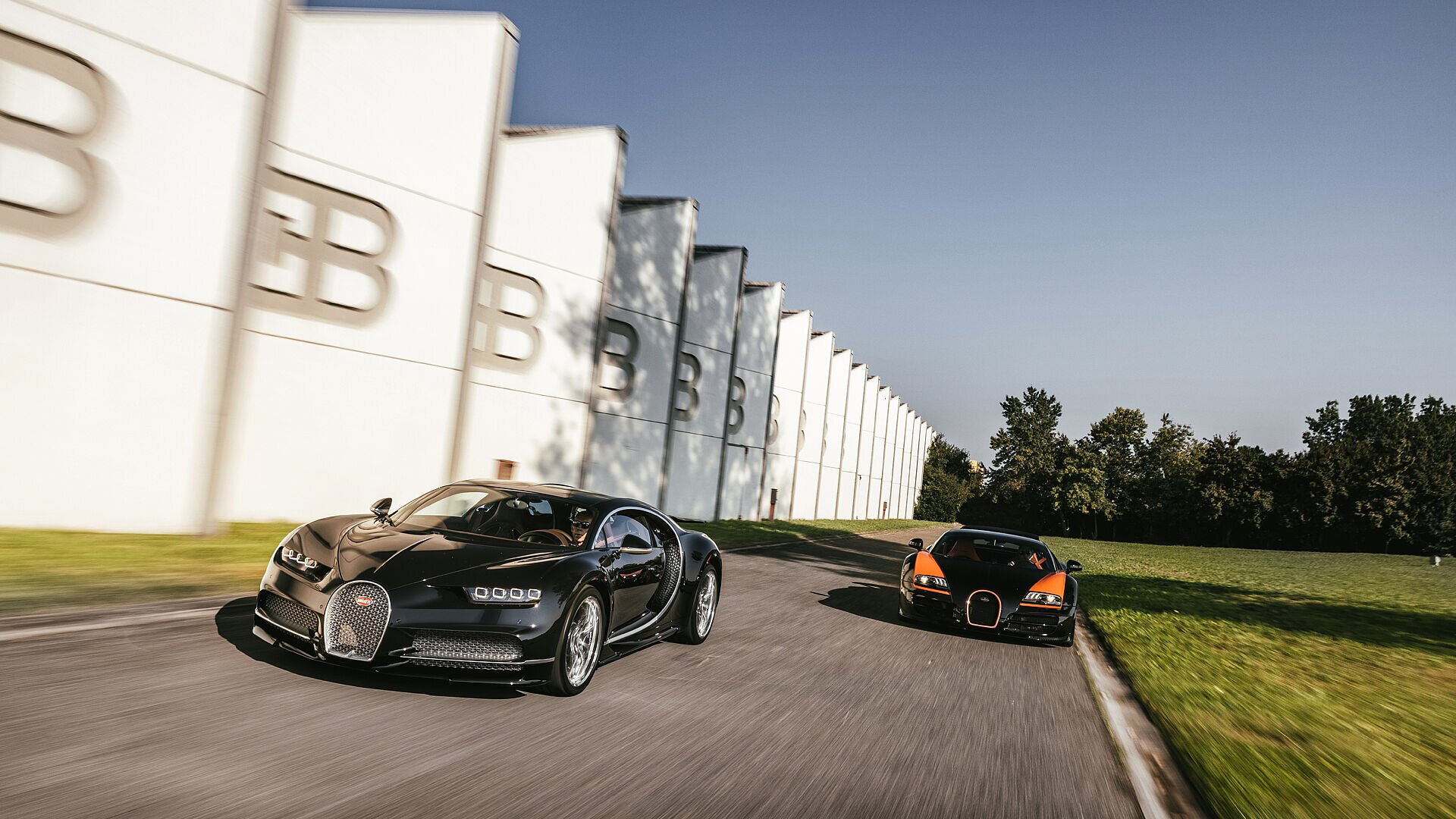 Bugatti anniversary tour – road trip between the past and present