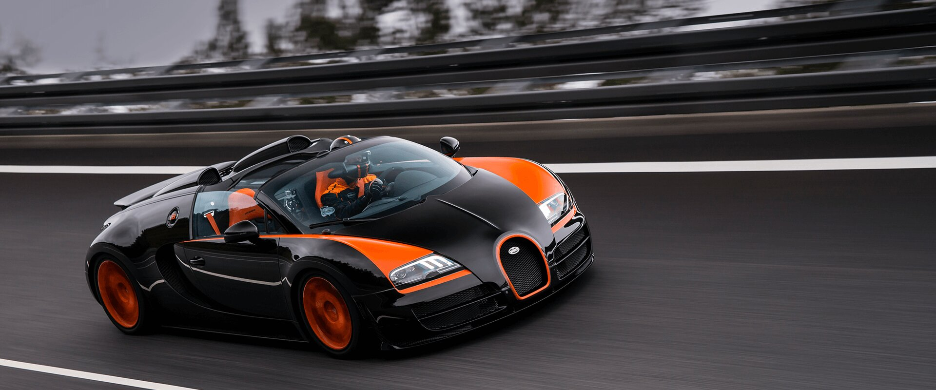 Charmant BUGATTI Veyron Technology