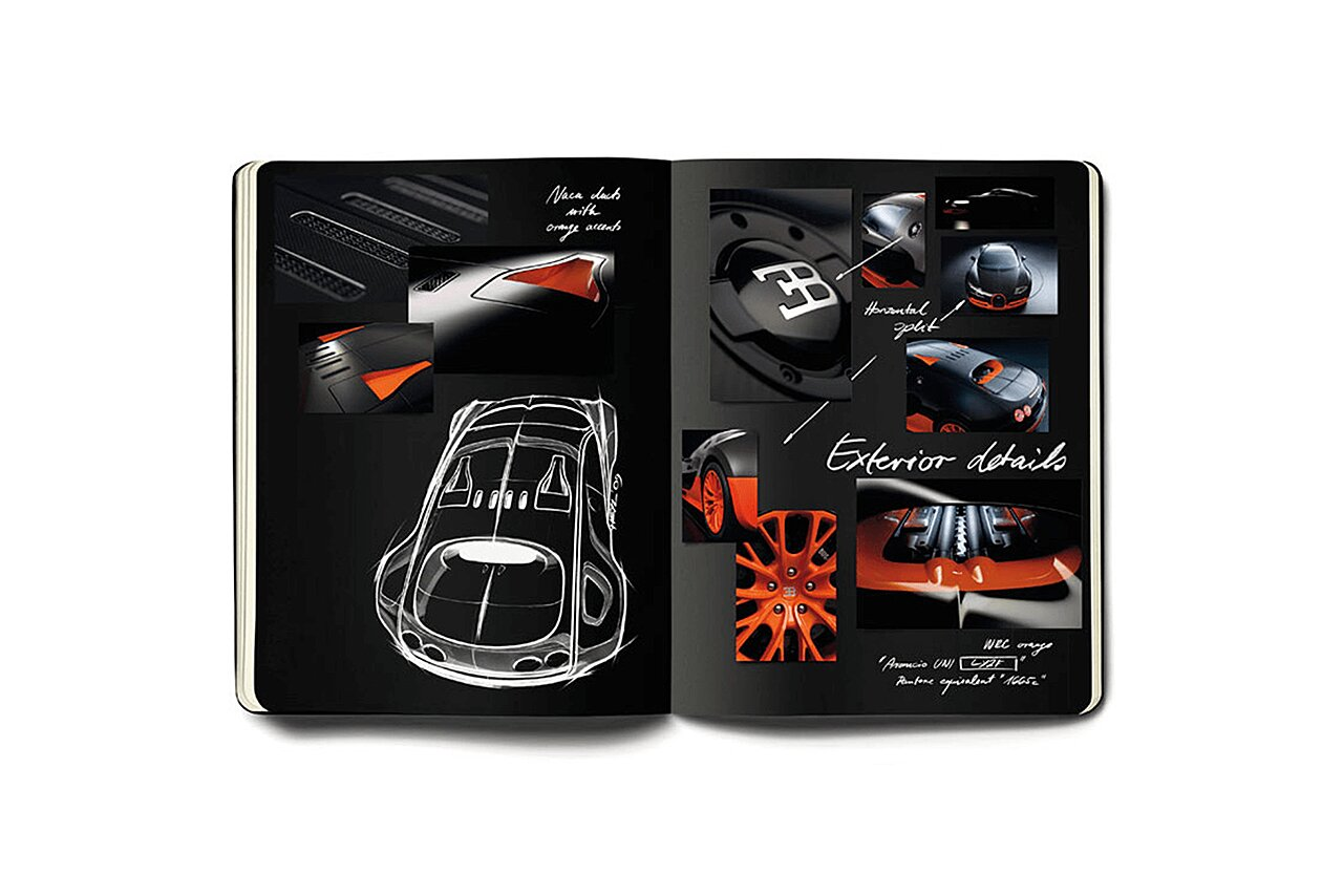 Bugatti Veyron Super Sport Sketchbook