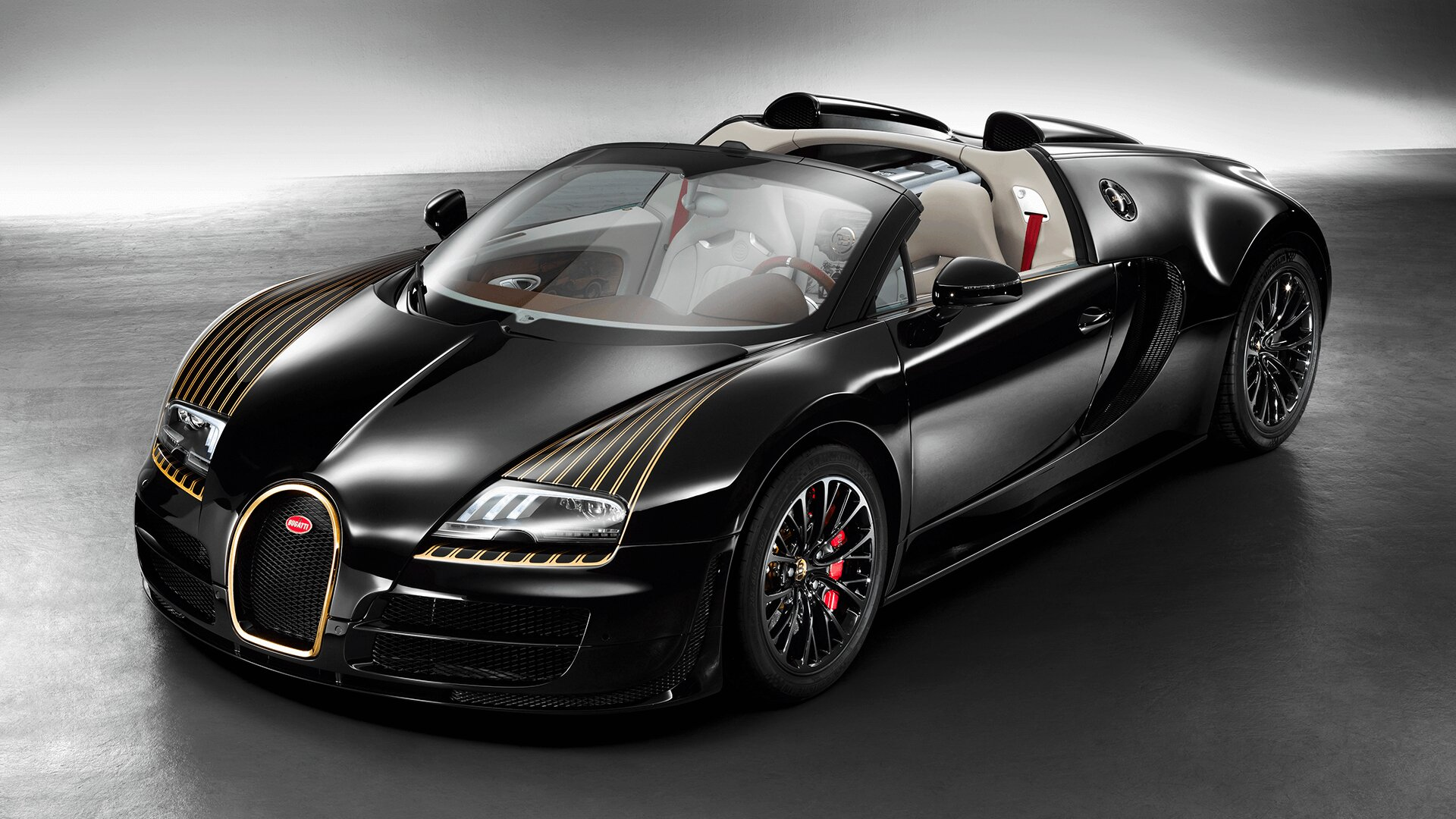 Bugatti Veyron Black Bess Model